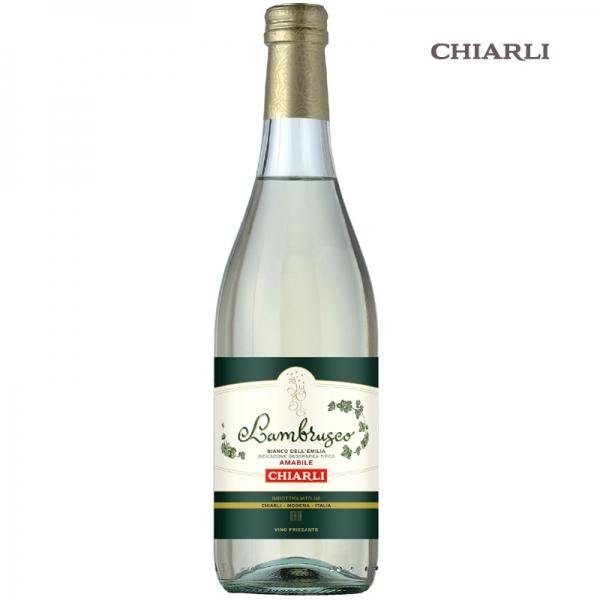 Chiarli Lambrusco Bianco dell'Emilia 0,75L