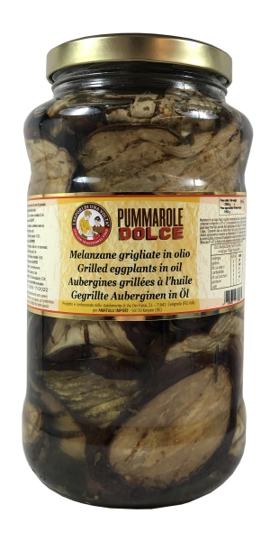Aubergine gegrillt in Öl - Melanzane grigliati in Olio 3100ml