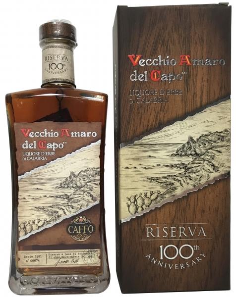 Vecchio Amaro del Capo Riserva del Centenario 700ml - Caffo