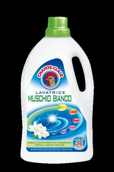 CHANTE CLAIR Waschmittel - Muschio Bianco 1430ml