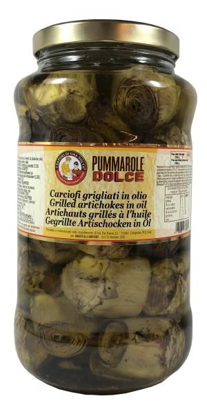 Cipolle grigliate in Olio - kleine Zwiebelchen gegrillt in Öl 3100ml