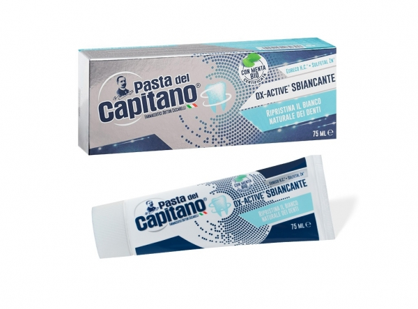 PASTA DEL CAPITANO Ox-Active Sbiancante 75ml