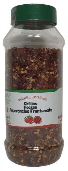 Peperoncino frantumato - Chilischoten gehobelt - 350g Dosierer