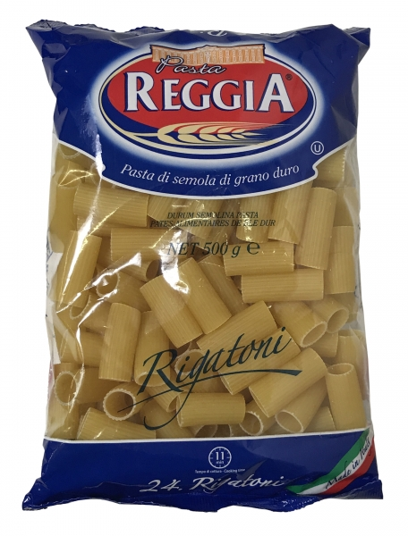 Pasta Reggia Nr. 24 Rigatoni - 500g