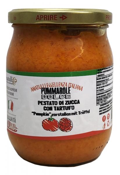 Pestato di Zucca con Tartufo 580ml