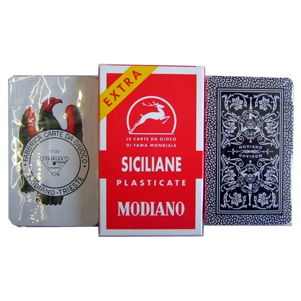 Scopa Spielkarten - Siciliane - Modiano