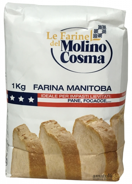 Cosma - 1kg Manitoba Mehl - Farina di Grano Tenero