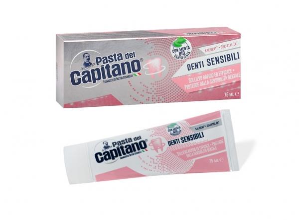 PASTA DEL CAPITANO Denti Sensibili 75ml