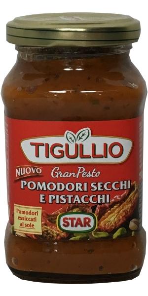 Tigullio - Gran Pesto Pomodori Secchi E Pistacchi 190g