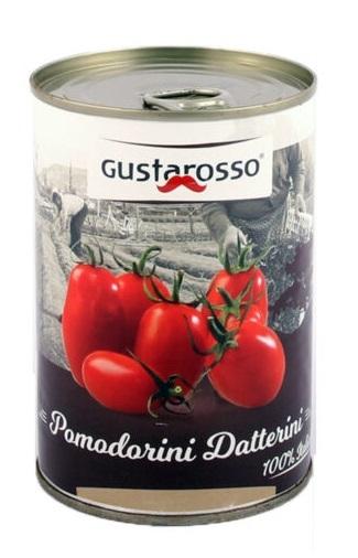 Datteltomaten - Pomodorino Datterino GUSTAROSSO 400g / 240g