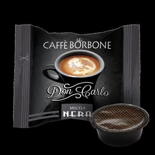 Caffé Borbone 100 Nero - Schwarz - Don Carlo