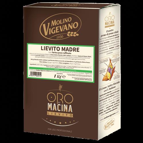 1 KG Mehl - Farina Lievito Madre Trockenhefe