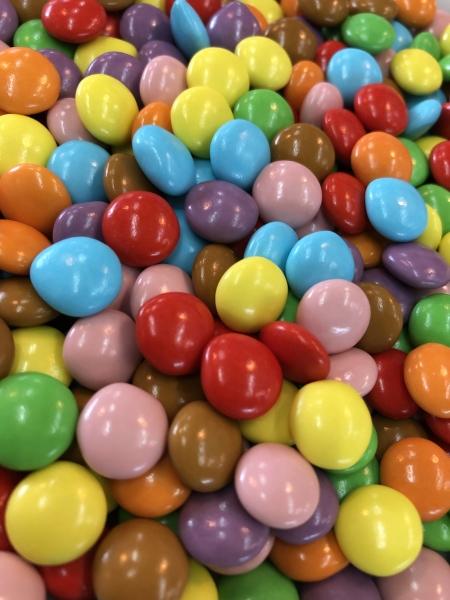 Mini Schokolinsen bunt - 1kg Schokoladendragees