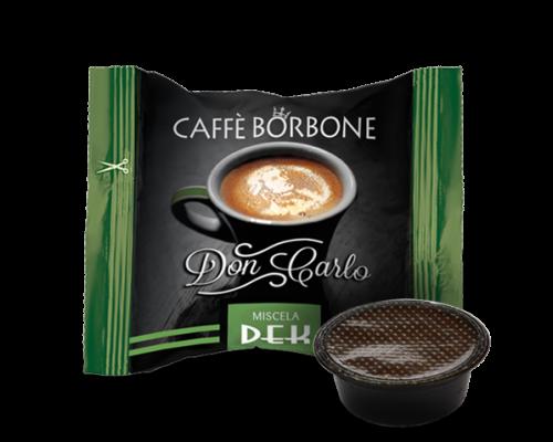 Caffé Borbone 100 DEK - Koffeinfrei - Don Carlo