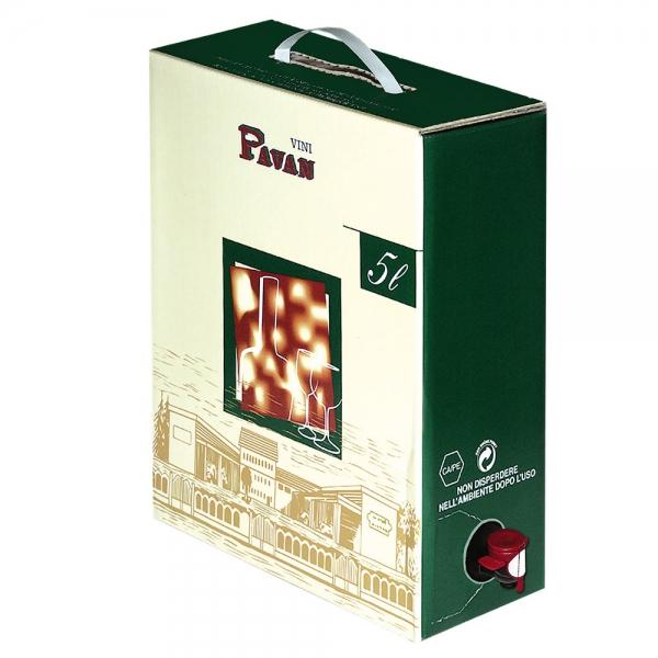 Pavan - Chardonnay Bianco IGP 5 liter - 12%alk.Vol - BAG IN BOX