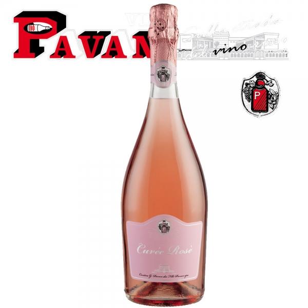Spumante Cuveé Rosè 75cl - Pavan