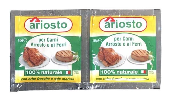 """Gewürzsalz Ariosto """"per Arrosti"""" für gegrilltes Fleisch 2 x 10g"""