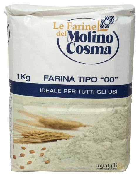 1 KG Mehl - Farina 00 di Grano Tenero