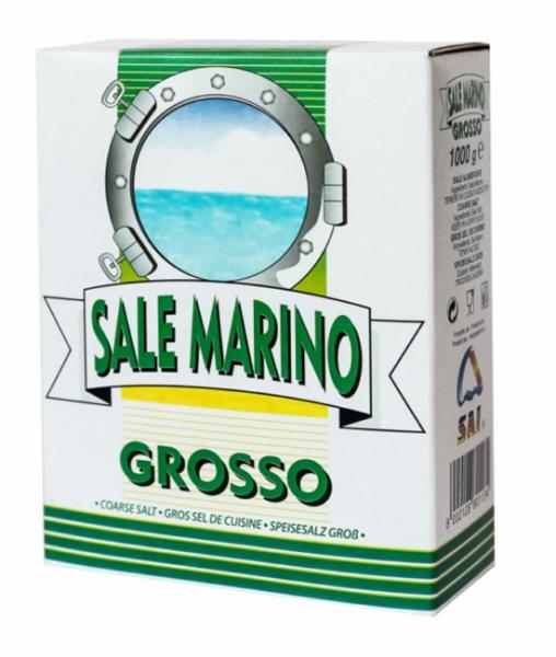 1 Kg Meersalz aus Italien - grob